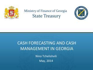 Cash Forecasting and cash Management in Georgia