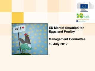 EU  M arket  S ituation for  E ggs and  P oultry Management Committee  19 July 2012