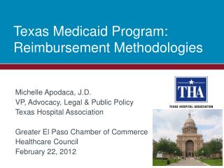Texas Medicaid Program: Reimbursement Methodologies
