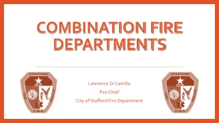 Combination fire departments
