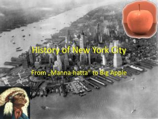 History  of New York City