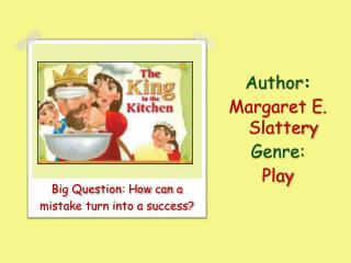 Author :   Margaret E. Slattery Genre:  Play