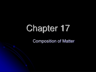 Chapter 17 Properties of Solutions