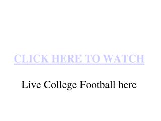 Meineke Bowl Live South Florida vs Clemson Live Stream NCAA