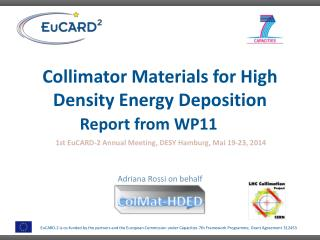 Collimator  Materials for  High  Density Energy  Deposition Report from  WP11