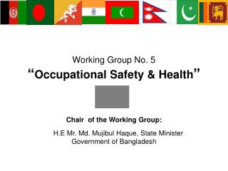 "Working Group No. 5 "" Occupational Safety & Health """