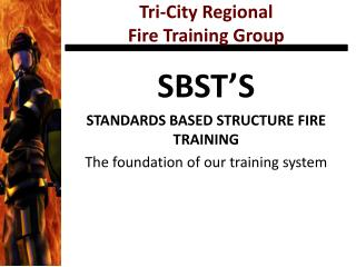 Tri-City Regional Fire Training Group