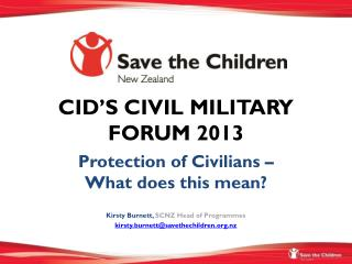 CID'S CIVIL MILITARY FORUM 2013