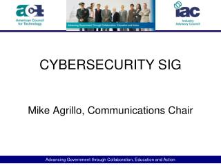 CYBERSECURITY SIG