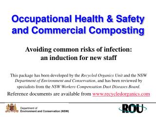 Occupational Health & Safety and Commercial Composting