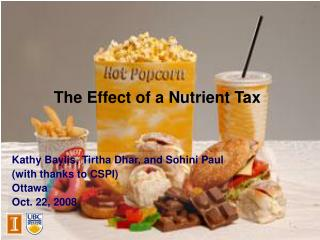 The Effect of a Nutrient Tax