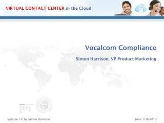 Vocalcom Compliance