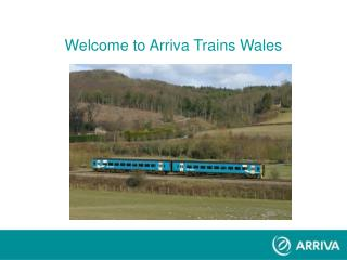 Welcome to Arriva Trains Wales