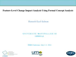 Feature-Level Change Impact Analysis Using Formal Concept Analysis