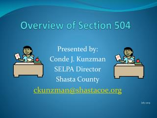 Overview of Section 504