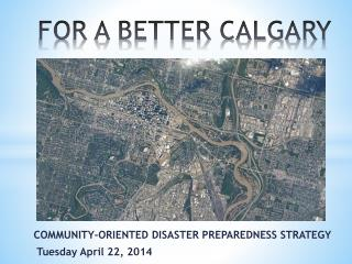 FOR A BETTER CALGARY