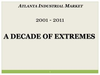 A Decade of Extremes