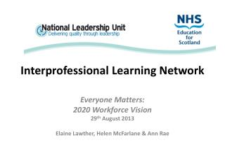 Interprofessional Learning  Network