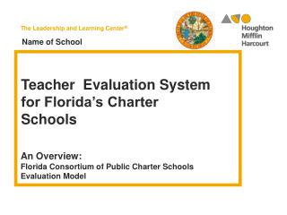 Teacher   Evaluation System for Florida's Charter Schools