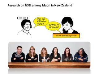 Research on NSSI among Maori in New Zealand