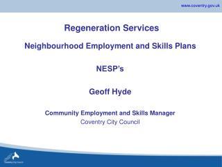Regeneration Services