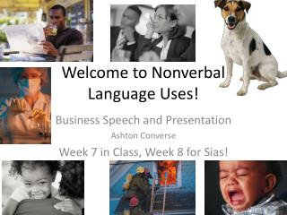 Welcome to Nonverbal  Language Uses!