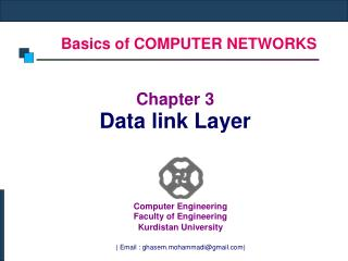 Basics of COMPUTER NETWORKS