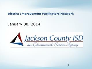 District Improvement Facilitators Network