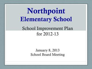 Northpoint Elementary School