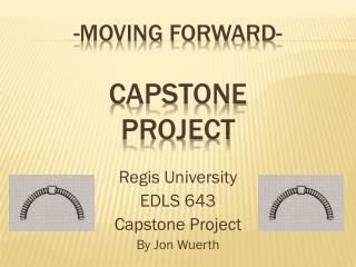 -Moving Forward- Capstone Project