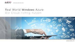 Real World  Windows Azure