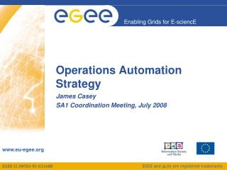 Operations Automation Strategy
