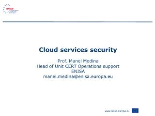 About ENISA
