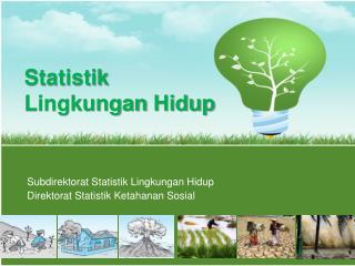 Statistik Lingkungan Hidup