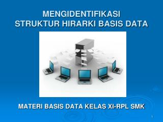 MENGIDENTIFIKASI  STRUKTUR HIRARKI BASIS DATA