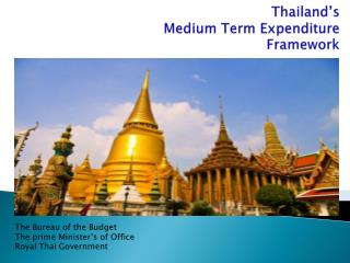 Thailand's Medium Term Expenditure Framework