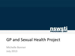 GP and Sexual Health Project