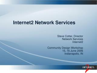 Internet2 Network Services