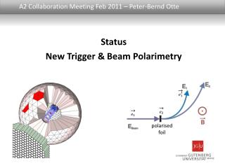 A2 Collaboration Meeting Feb 2011 – Peter-Bernd  Otte