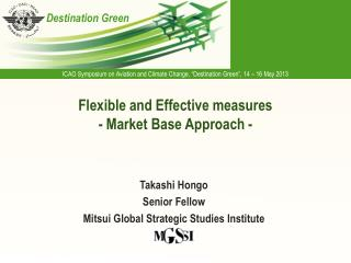Flexible and Effective measures  - Market Base Approach -