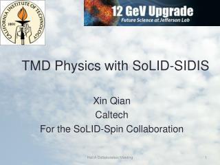 TMD Physics with  SoLID -SIDIS