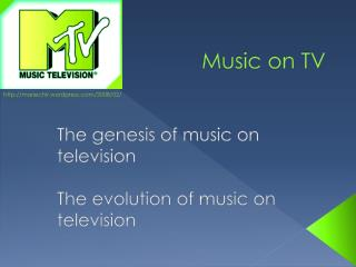Music on TV