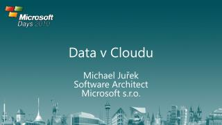 Data v  Cloudu