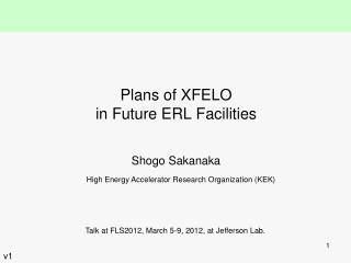 Plans of XFELO in Future ERL Facilities