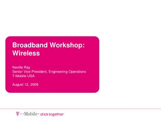 Growth of Wireless Broadband