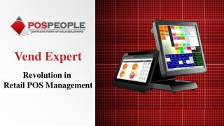 Vend Expert - Revolution in Retail POS Management