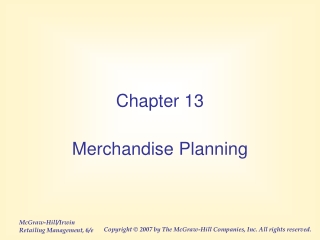 Chapter 12 Determining Optimal Level of Product Availability