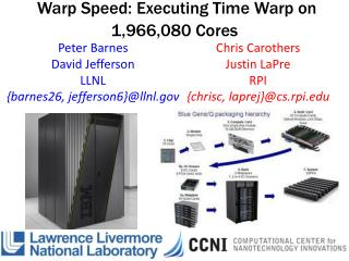 Warp Speed: Executing Time Warp on 1,966,080 Cores