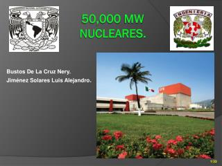 50,000  mw nucleares.