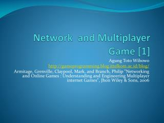 Network  and Multiplayer Game [1]